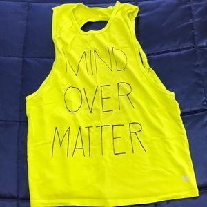 Forever 21 open back graphic tank top